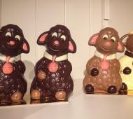 figurines en chocolat