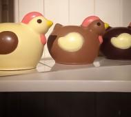poussin paques chocolat