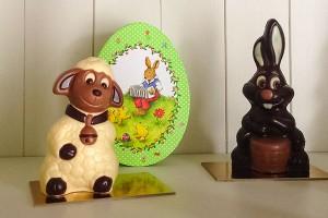 figurines chocolat paques gembloux