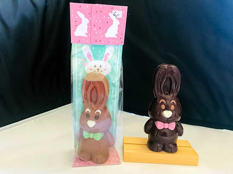 lapins chocolat noir ou lait