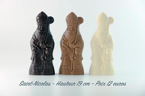 saint nicolas chocolat blanc
