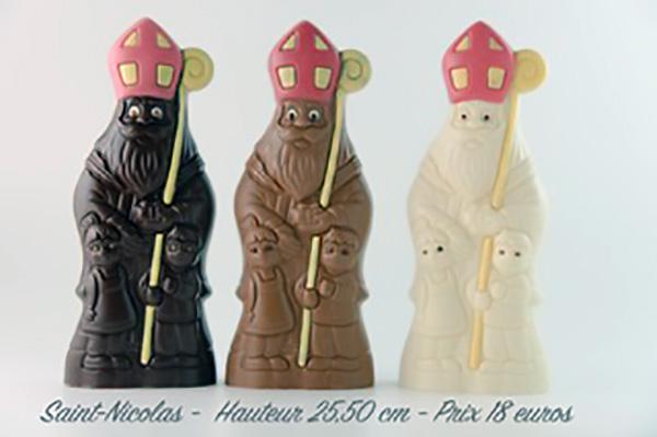 saint nicolas chocolat au lait
